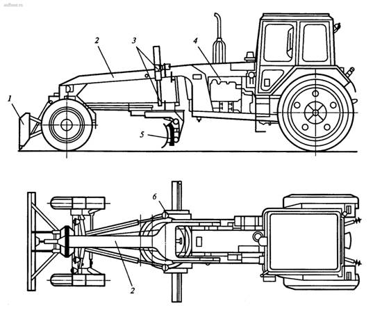 Автогрейдер ДЗ-201