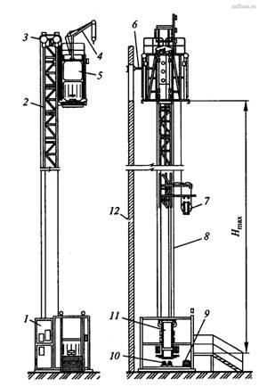 подъемник ПГПМ-4272