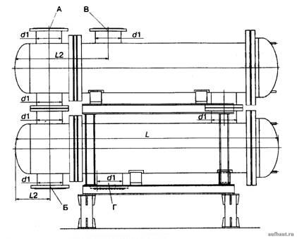Блок из двух подогревателей