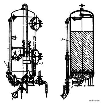 Вертикальный катионитовый