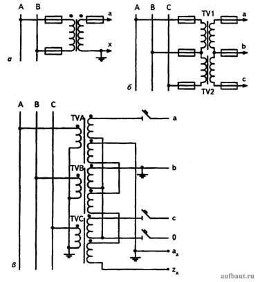 Схемы соединения