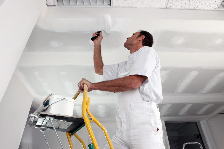 Картинки по запросу потолок Подготовка под окраску, покраска, декоративная штукатурка потолков