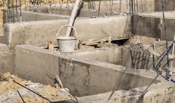 фундамент, блочный фундамент, устройство фундамента, СПб, Санкт-Петербург, область. Блочный фундамент