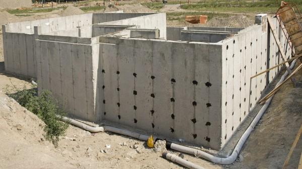 Строительство блочного фундамента