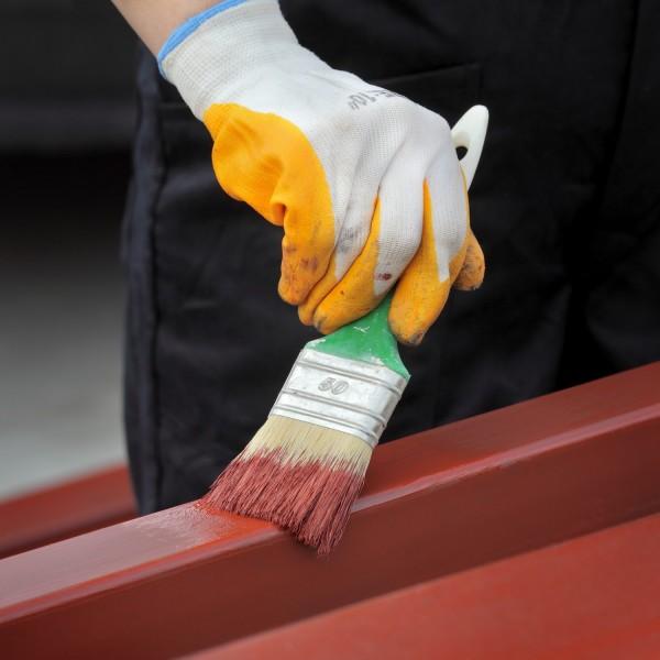 Этапы работы по покраске дома