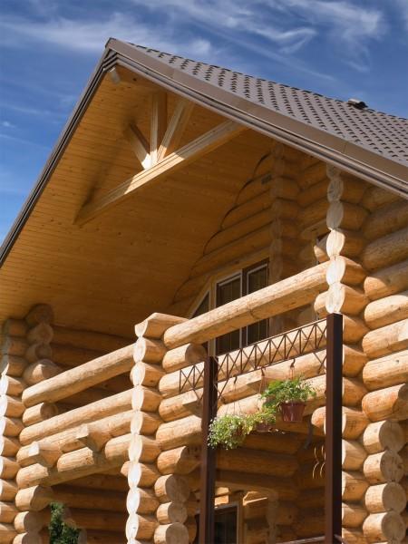 Ремонт бревенчатого дома