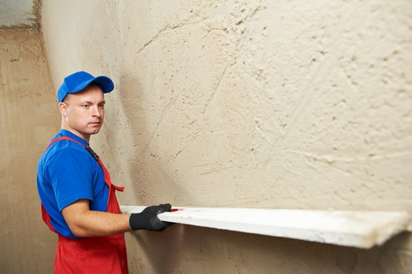 Штукатурка основной площади внутренних стен