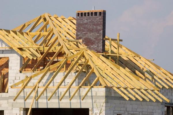 Устройство потолочного перекрытия в частном доме с дымоходом