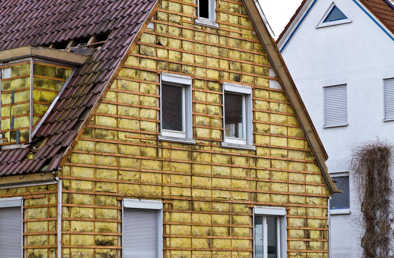 Утепления фасада дома под сайдинг