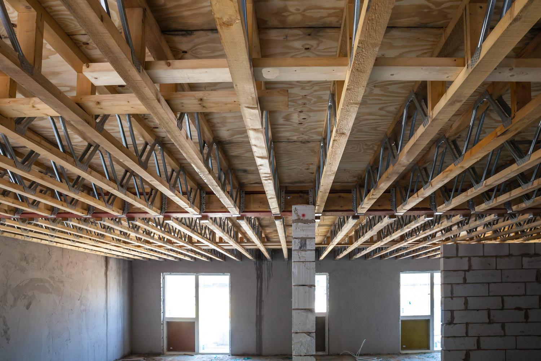 Как сделать монолитный потолок