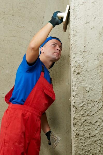 Песчано-цементная штукатурка внутренних стен