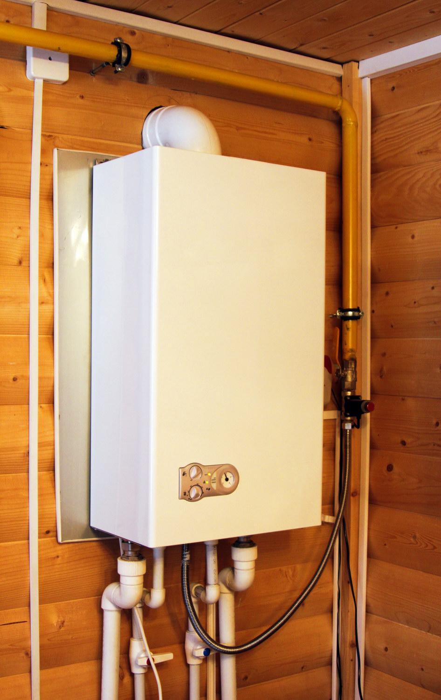 Как сделать горячую воду в частном доме от газового котла в доме