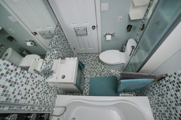 Дизайн ванной в «хрущевке»