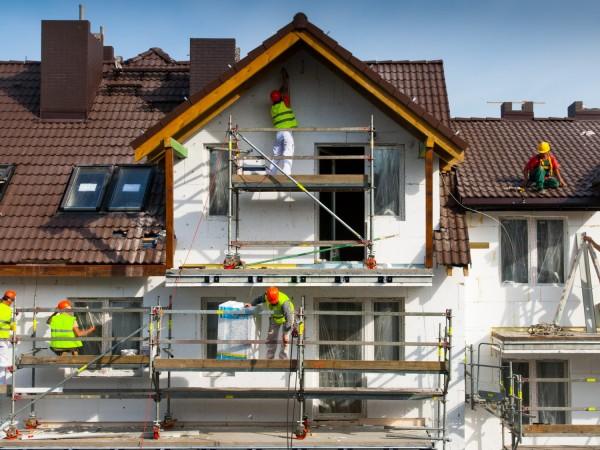 «Сухая» технология утепления фасада