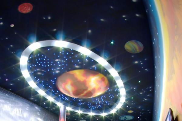 «Звездное небо» – оригинальная натяжная конструкция