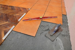 Home renovation, tiles