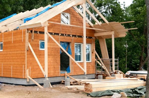 Усиление конструкций деревянного дома