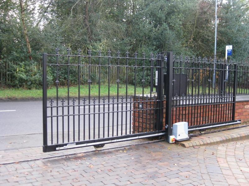 раздвижные ворота