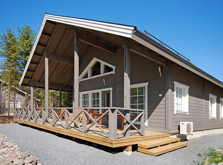 каркасный финский дом