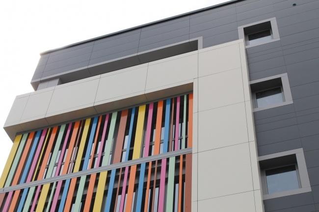 композитный вентилируемый фасад