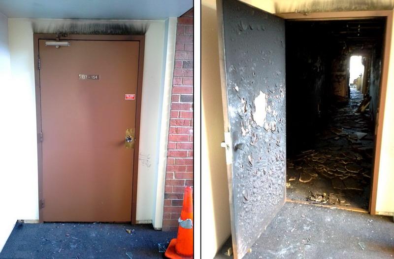 Противопожарные двери: требования, конструкция, выбор