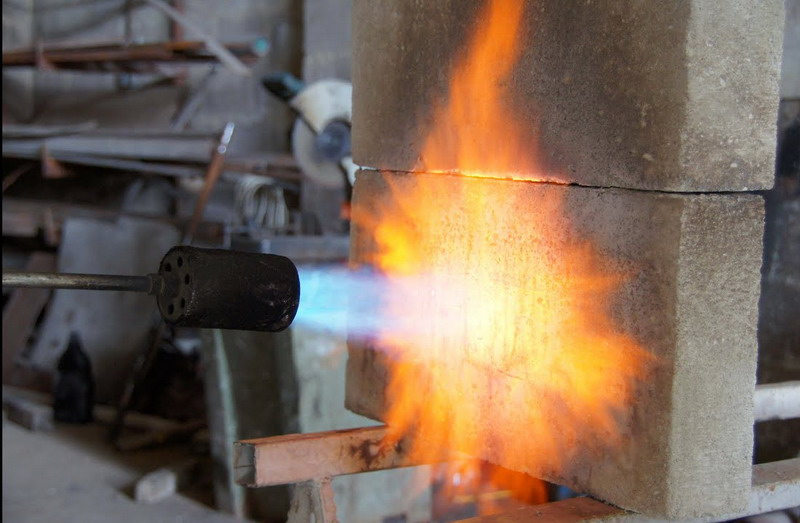 огнестойкость газобетонных блоков