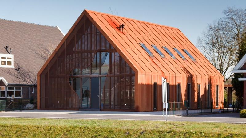 уникальный дизайн дома в стиле барнхаус